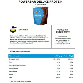 PowerBar Deluxe Proteinen Zak 500g, Chocolate